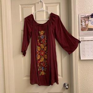 Boho style dress by Mittoshop
